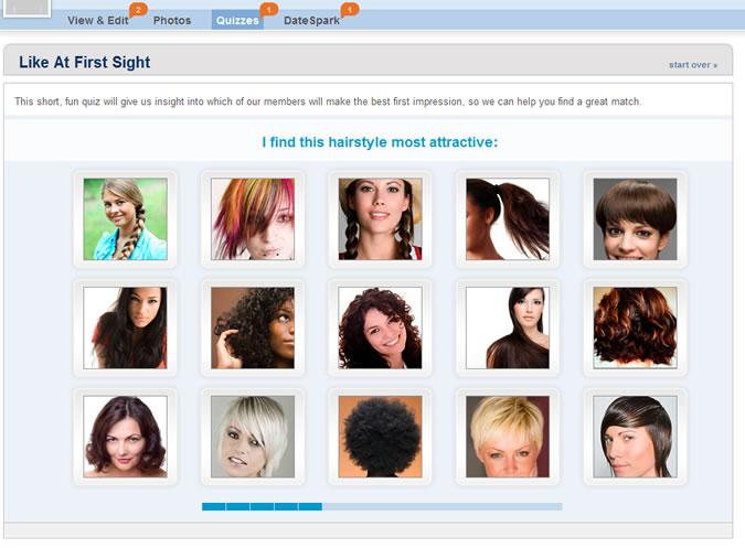 Match.com Quiz: Attractive hairstyle