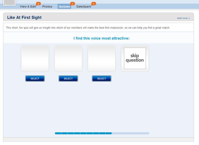 Match.com Quiz: Attractive voice