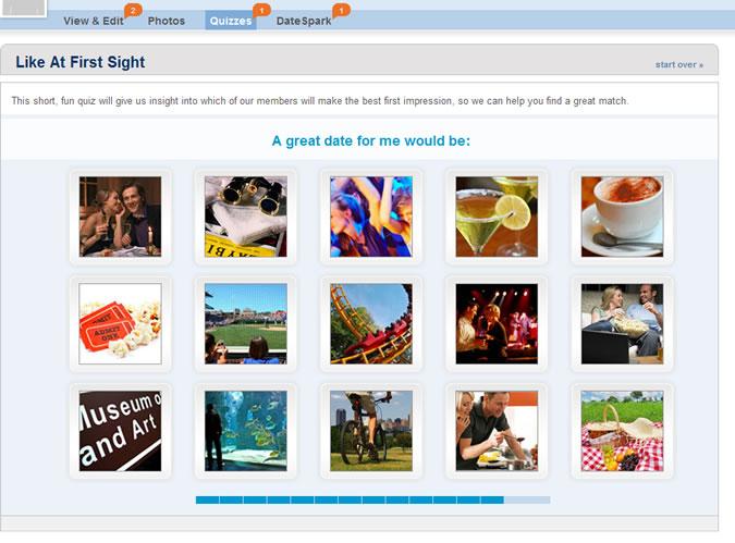 Match.com Quiz: Great date idea