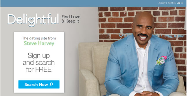 Delightful Dating Site with Steve Harvey