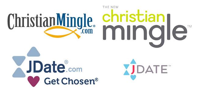 Christian Mingle and JDate Logos